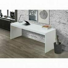 ACME Lawson Desk - 37466 - White & Orange