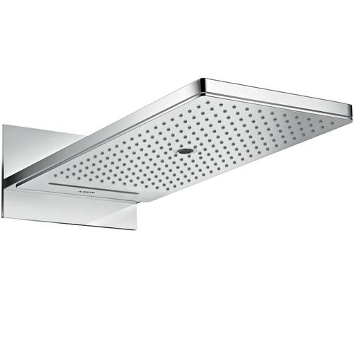 Polished Black Chrome Overhead shower 250/580 3jet