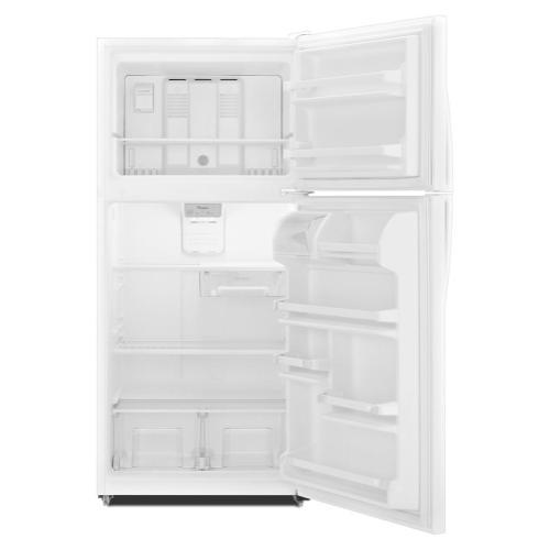"Whirlpool - 30"" Wide Top-Freezer Refrigerator"
