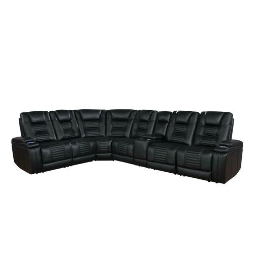 Coaster - 7 PC Power2 Sectional