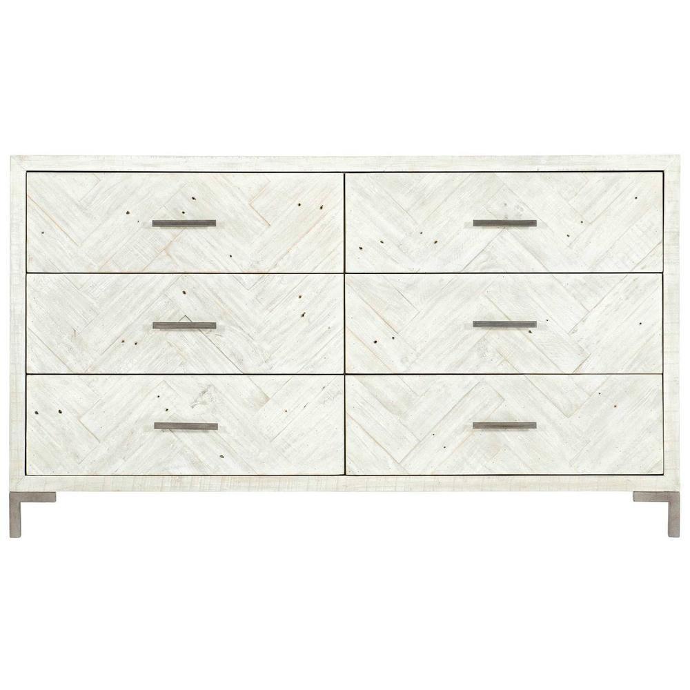 Macauley Dresser in Brushed White