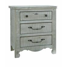 See Details - Nightstand - Mint Finish