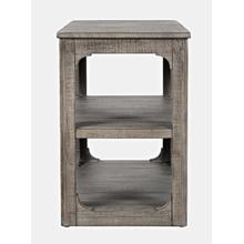 View Product - Westfield Chair Side Table - Weathered Grey