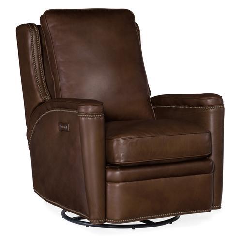 Hooker Furniture - Rylea PWR Swivel Glider Recliner