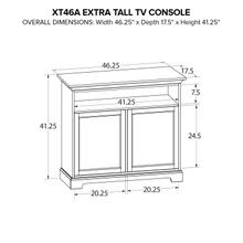 XT46A Extra Tall Custom TV Console