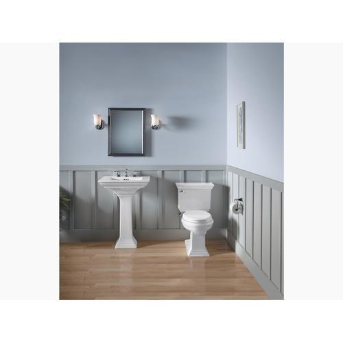 "Sandbar 24"" Pedestal Bathroom Sink With 8"" Widespread Faucet Holes"