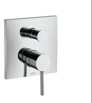 Brushed Bronze Single lever bath mixer for concealed installation Product Image