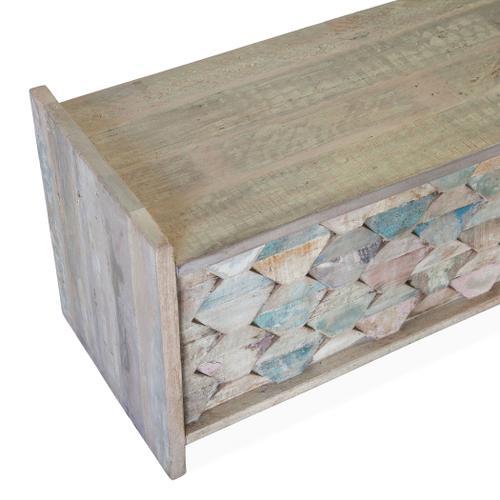 "Ibiza 60"" Reclaimed Wood Storage Bench"