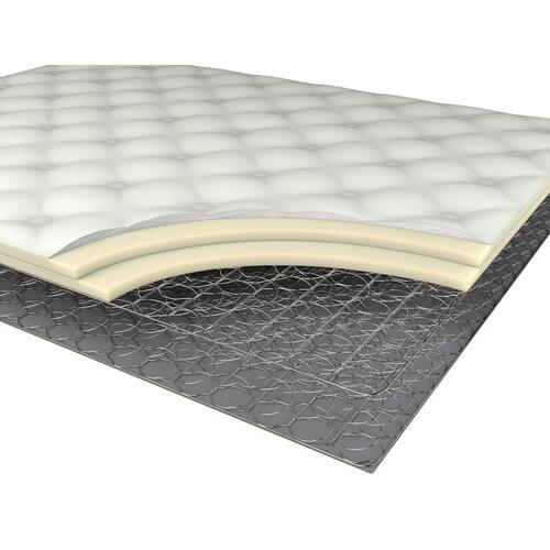"American Bedding 9"" Medium Euro Top Mattress, Full"