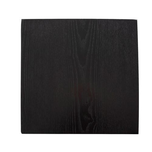 Howard Elliott - Stepped Black Wood Veneer Pedestal with Mirror - Medium