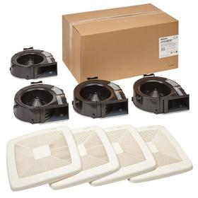 """Broan-NuTone® Wall Vent Kit, 3"""" or 4"""" Round Duct"""