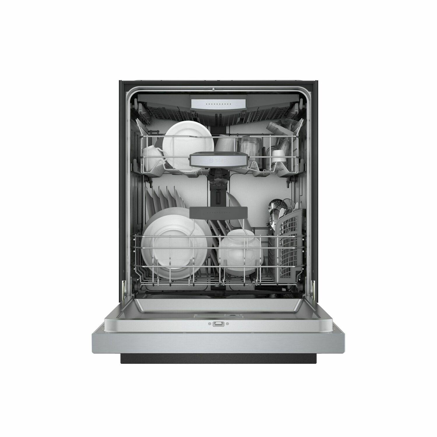 Shem78z55n Bosch 800 Series Dishwasher 24 Stainless Steel Shem78z55n Stainless Steel Manuel Joseph Appliance Center