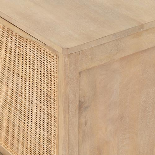 Left Configuration Natural Finish Sydney Nightstand
