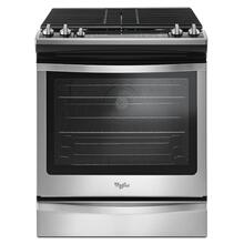View Product - 5.8 Cu. Ft. Slide-In Gas Range with EZ-2-Lift™ Hinged Grates