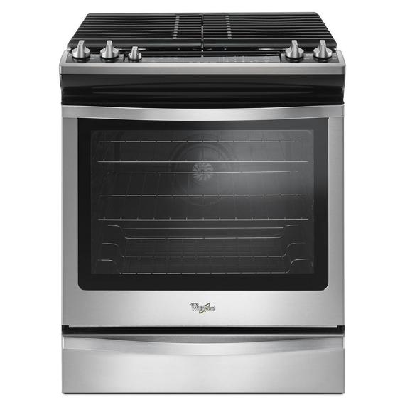 Whirlpool - 5.8 Cu. Ft. Slide-In Gas Range with EZ-2-Lift™ Hinged Grates