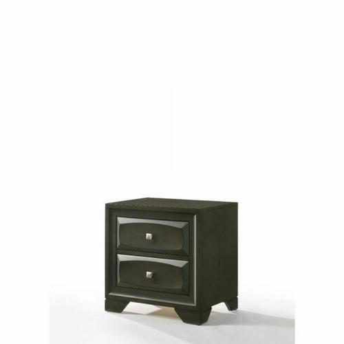 ACME Soteris Nightstand - 26543 - Antique Gray