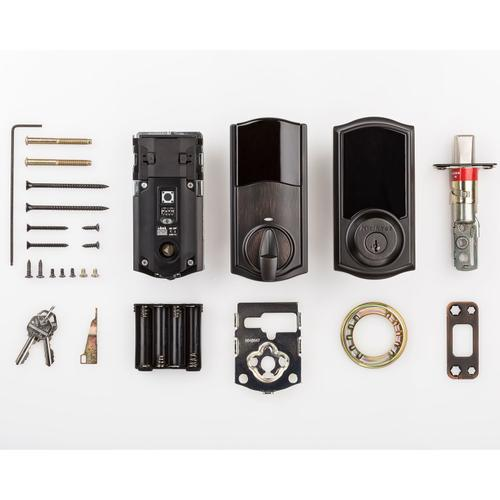 Kwikset - 919 Premis Traditional Smart Lock - Venetian Bronze