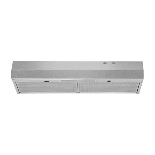 """30"""" Range Hood with Full-Width Grease Filters"""