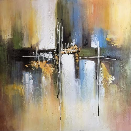 Gallery - Modrest Abstract Oil Painting