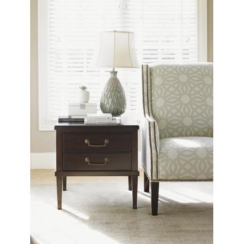 Chandler Drawer Lamp Table