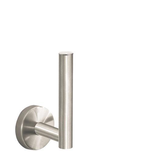 Brushed Nickel Spare Roll Holder