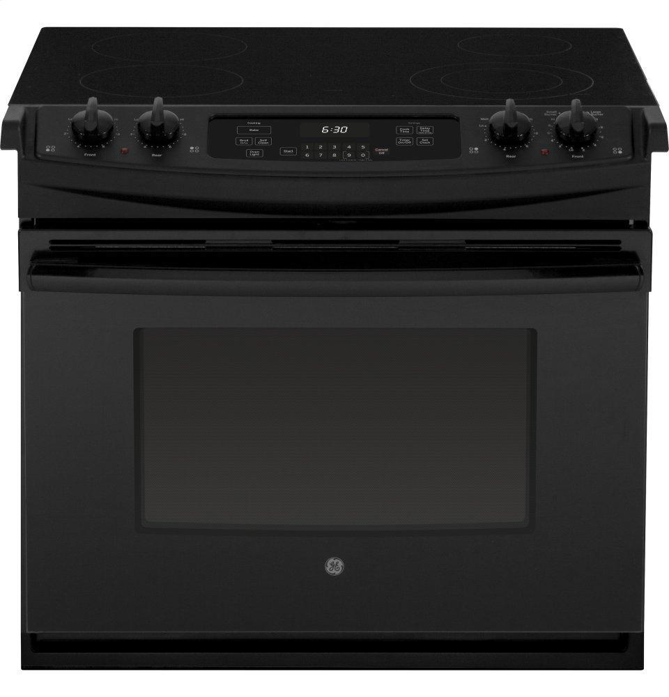 "GE30"" Drop-In Electric Range"