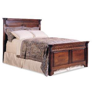 Durham Furniture - King Mansion Bed