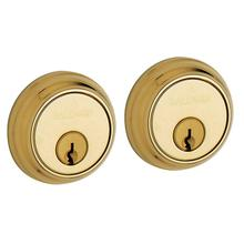 Non-Lacquered Brass Traditional Deadbolt