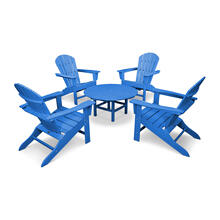 Pacific Blue South Beach 5-Piece Conversation Group