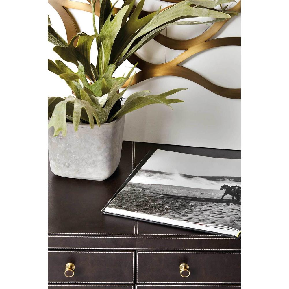 Clarendon Leather Wrapped Desk