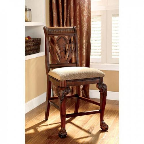 Furniture of America - Petersburg Counter Ht. Chair (2/box)