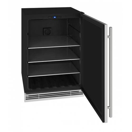 """Product Image - U-Line UHBV024SS01A   Hbv024 24"""" Beverage Center With Stainless Solid Finish (115 V/60 Hz Volts /60 Hz Hz)"""