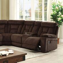 See Details - Maybell Sectional W/ 2 Consoles, Brown