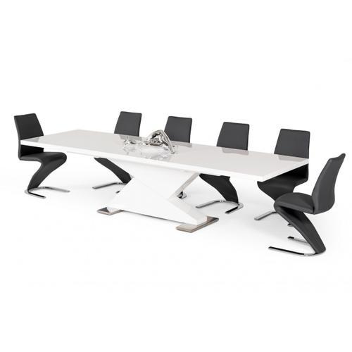 "VIG Furniture - Modrest Bono ""Z"" - Modern White Dining Table"