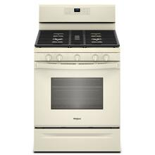 5.0 cu. ft. Freestanding Gas Range with Center Oval Burner Biscuit