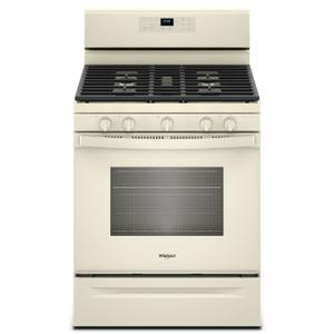 Whirlpool 5.0 Cu. Ft. Freestanding Gas Range With Center Oval Burner Biscuit
