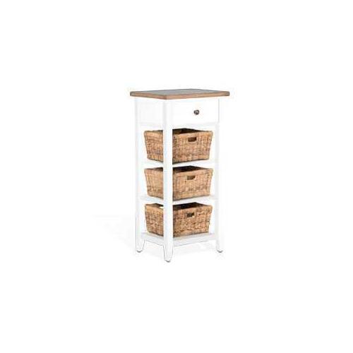 See Details - Storage Rack w/ Baskets