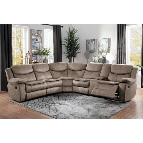 Gallery - 3-Piece Sectional with Right Console