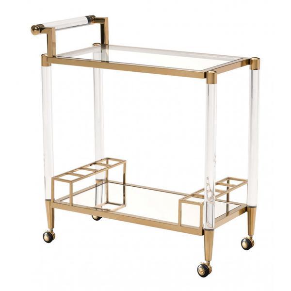 Existential Bar Cart Gold