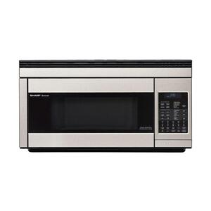 Sharp Appliances1.1 cu. ft. 850W Sharp Stainless Steel Over-the-Range Convection Microwave Oven
