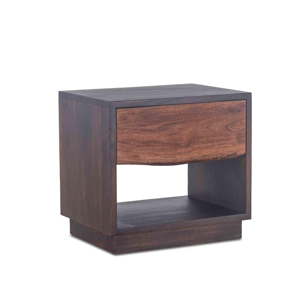 "San Marino Night Chest 24"" Raw Walnut"