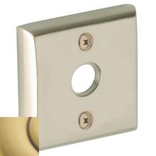 Satin Brass and Brown 0422 Emergency Release Trim