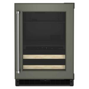 """24"""" Panel-Ready Beverage Center with Wood-Front Racks - Panel Ready PA Product Image"""