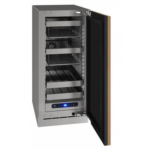 "U-Line - Hbv515 15"" Beverage Center With Integrated Solid Finish and Field Reversible Door Swing (115 V/60 Hz Volts /60 Hz Hz)"