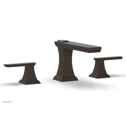 WAVELAND Widespread Faucet - Antique Bronze