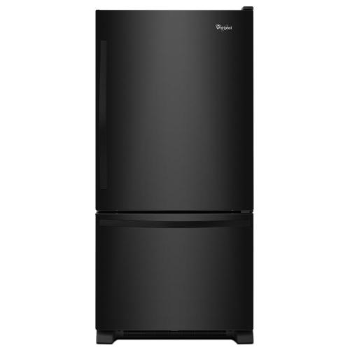 Whirlpool - 33-inches wide Bottom-Freezer Refrigerator with SpillGuard™ Glass Shelves - 22 cu. ft