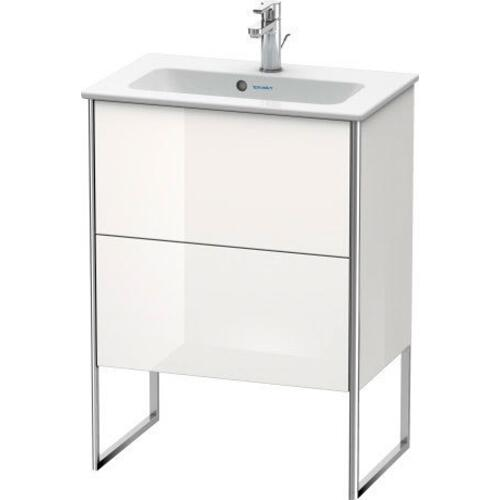 Product Image - Vanity Unit Floorstanding Compact, White High Gloss (lacquer)