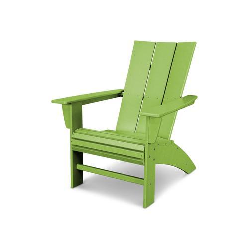 Lime Modern Curveback Adirondack Chair