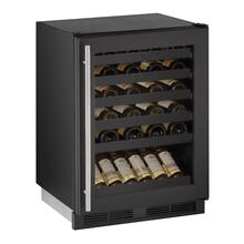 "24"" Wine Refrigerator With Black Frame Finish (115 V/60 Hz Volts /60 Hz Hz)"