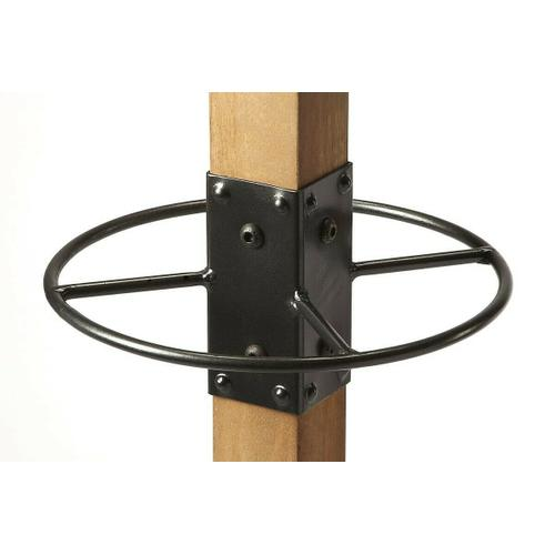 Butler Specialty Company - Use this coat rack in your entryway to catch hats, jackets, umbrellas and more or in your bathroom for towels and robes; this contemporary-chic coat rack, features 2 tiers of iron hooks, solid wood frame and an iron base for a touch of charm.